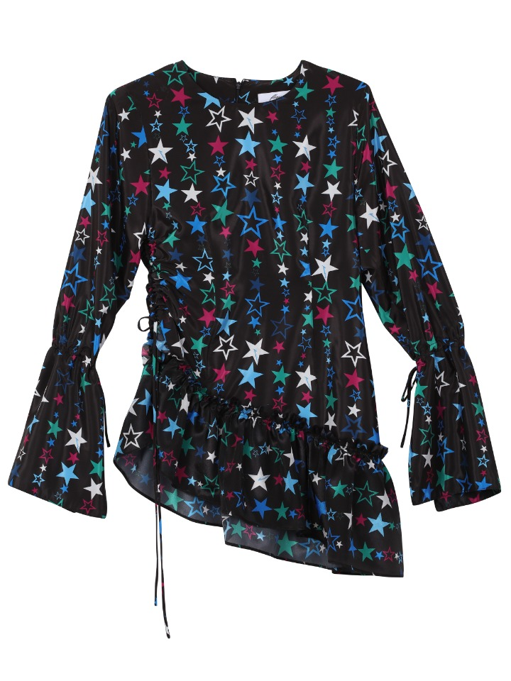 [SALE70%]STAR RUFFLE DRESS
