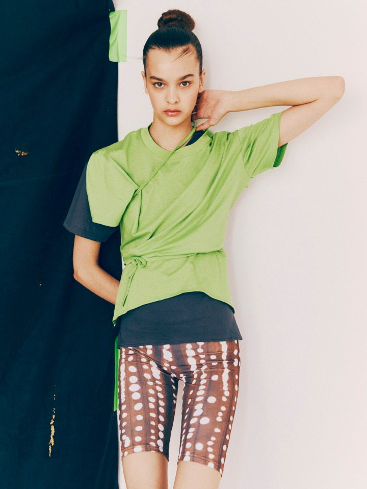 [19SS 50% SALE] DEER PRINTED CYCLING SHORTS