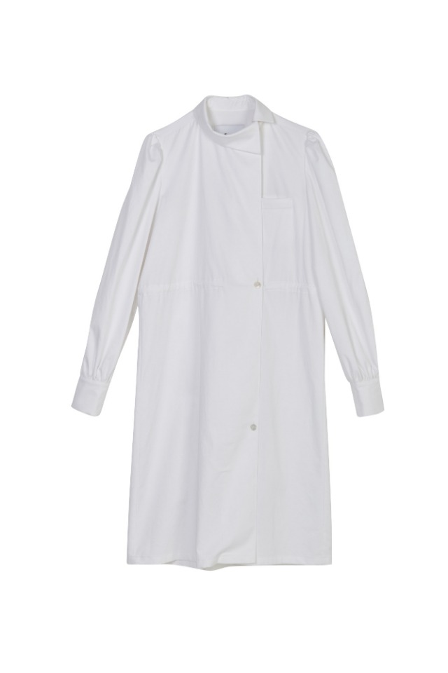 (LAST-ONE 70% SALE) REFORMATION COTTON SHIRT DRESS