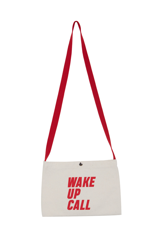 WAKE UP CALL CANVAS BAG (2 COLOR)
