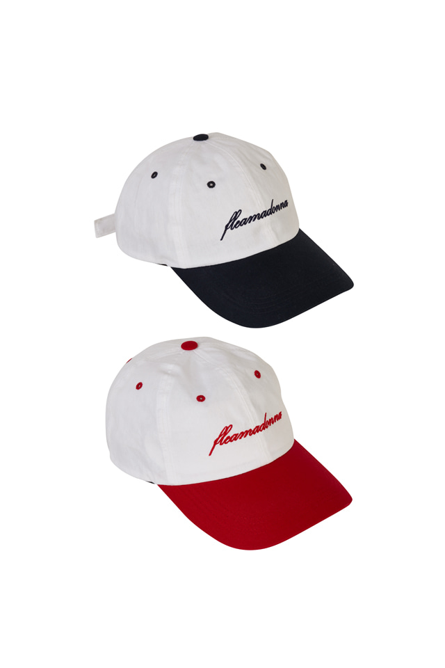 (30% SALE) FLEAMADONNA COLOR LOGO CAP (2COLOR)