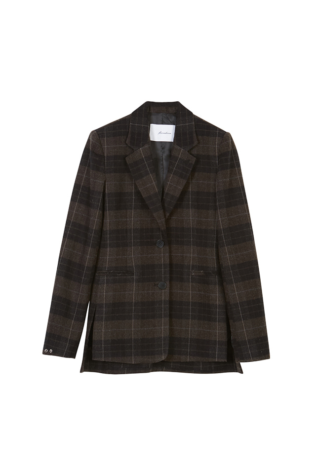 [아이린착용](30% OFF) 19FW SINGLE BREASTED PLAID BLAZER