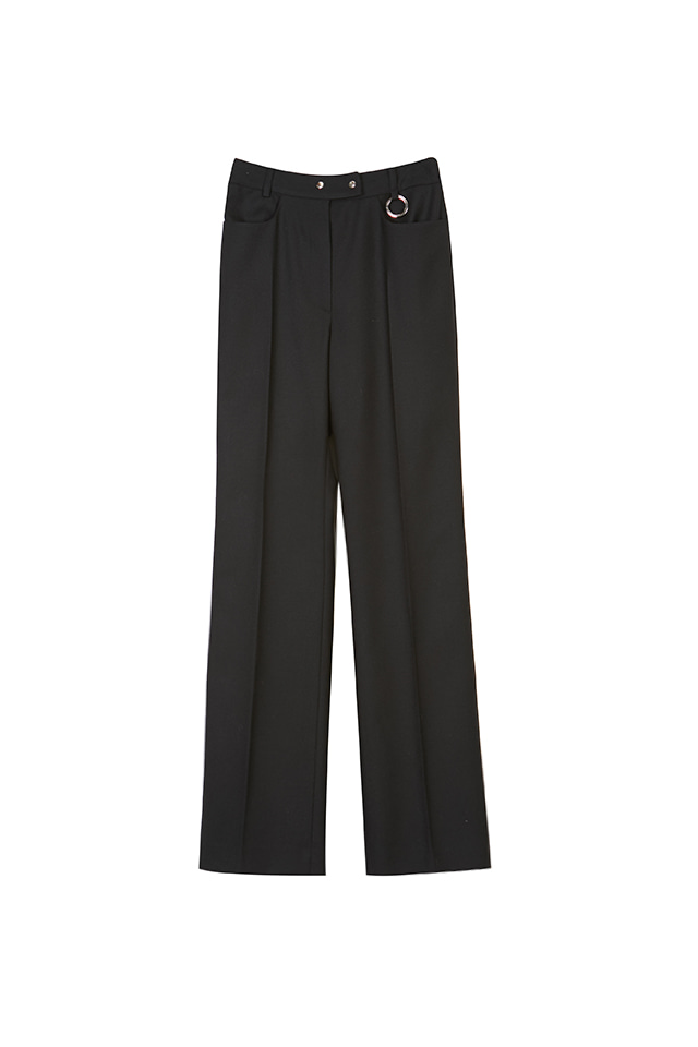 19FW WOOL STRAIGHT-LEG PANTS