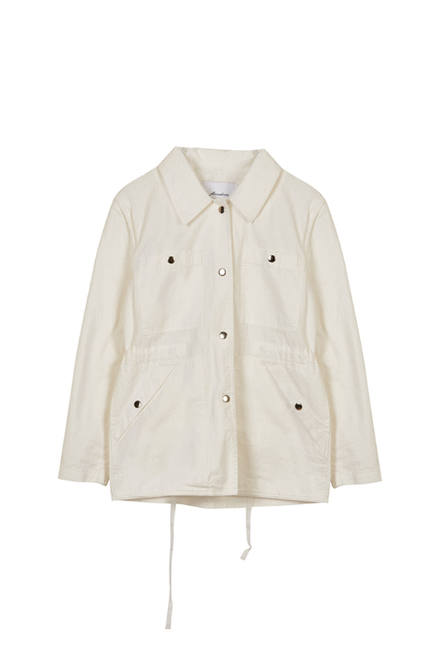 SHOULDER OPEN SAFARI JACKET